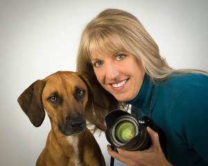 pet photographer annie ballentine with bogey